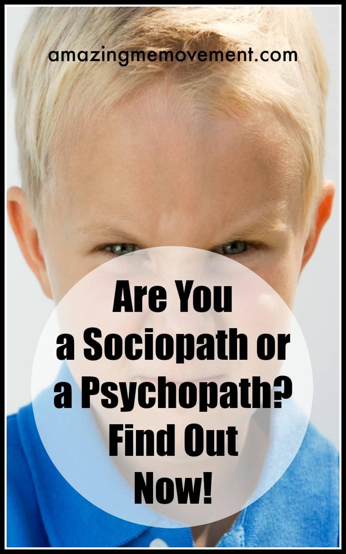 Are you a sociopath quiz?