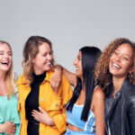 women laughing-strong women quotes