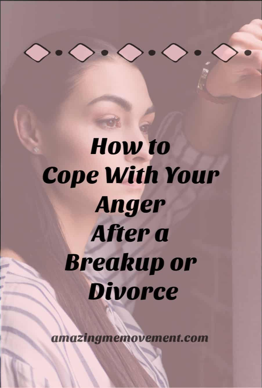 how to deal with anger problems after a divorce