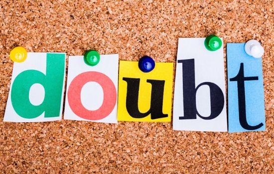 doubt signs of low self esteem