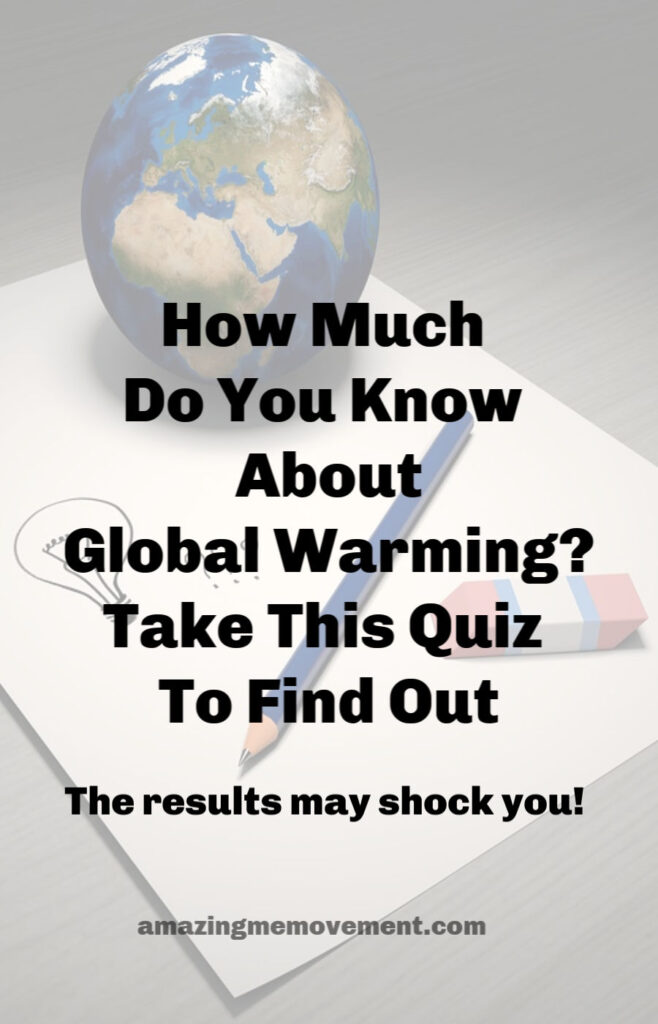This global warming quiz will shock you