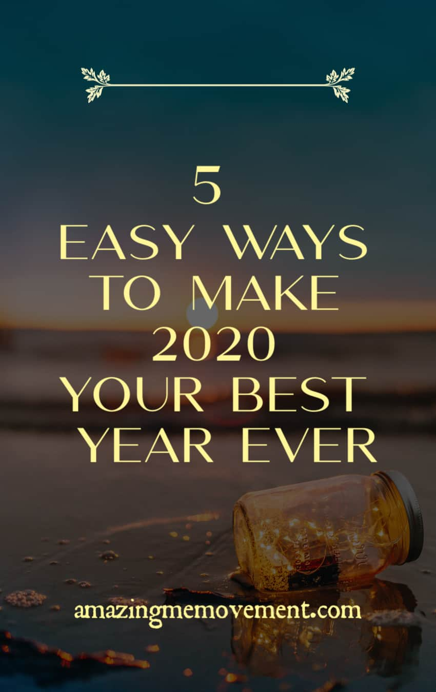 5 ways to have your best year ever