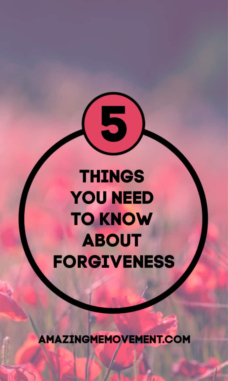 5 myths about forgiveness