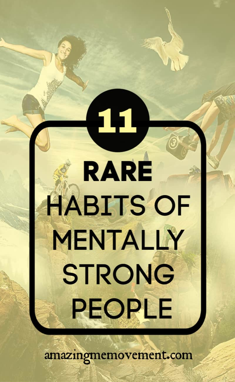 11 habits of mentally strong people
