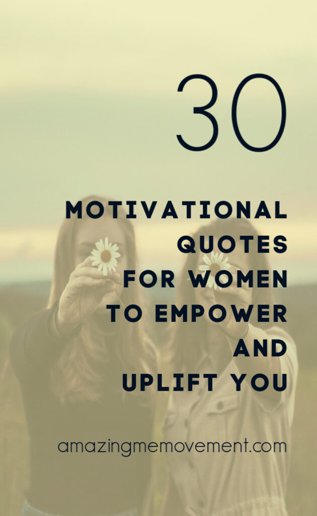 30 motivational quotes for women