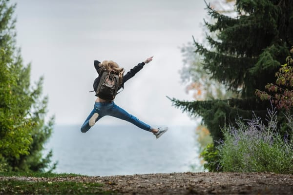 girl jumping in the air-you are amazing eBook series