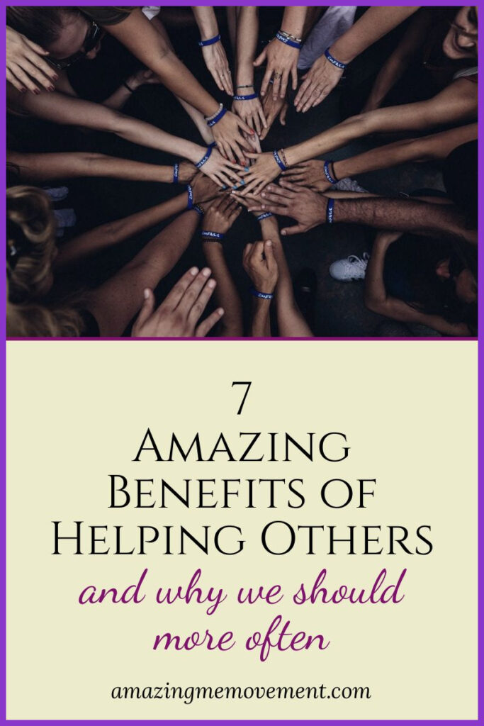 helping hands-benefits of helping others