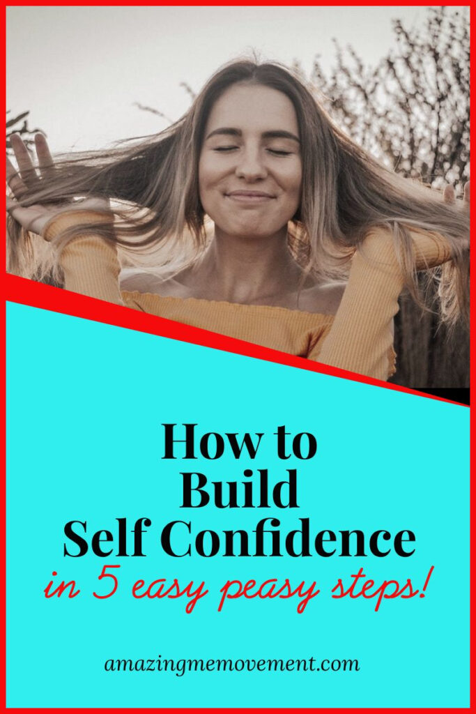 smiling girl-how to build self confidence