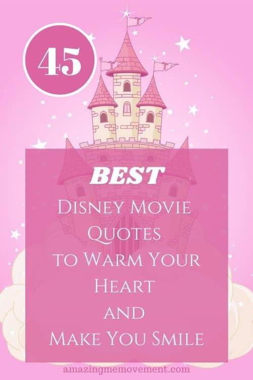disney castle-best disney movie quotes pin image