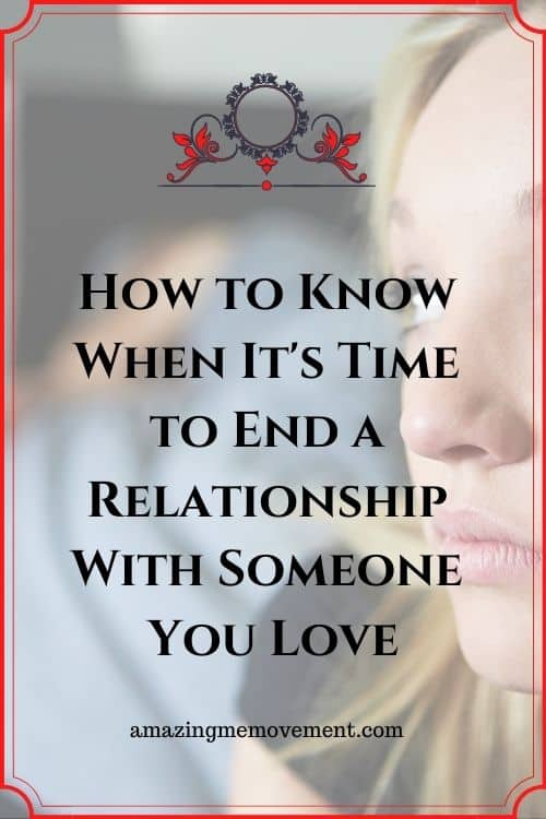 how to end a relationship pin image