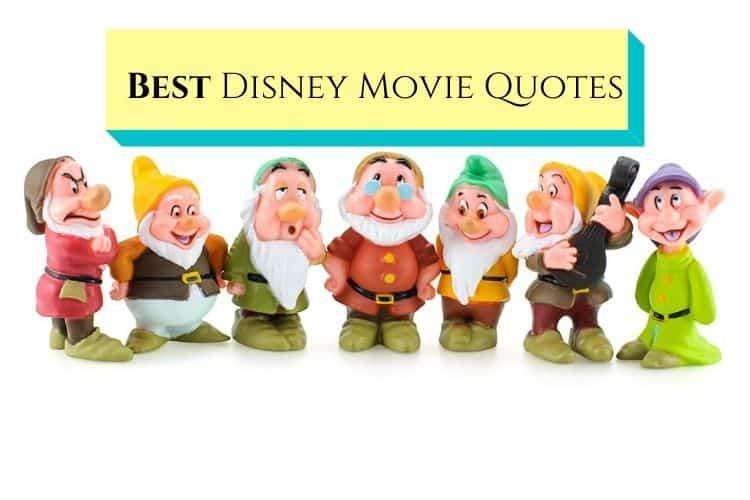 seven dwarfs-disney movie quotes