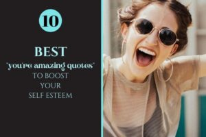 you're amazing quotes blog post image