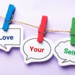 love yourself post it notes-self talk