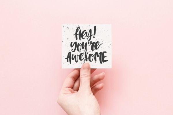 you're awesome image-feeling like a loser blog post