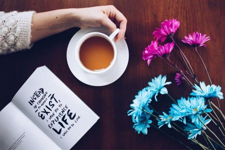 coffee and notepad-making life changes
