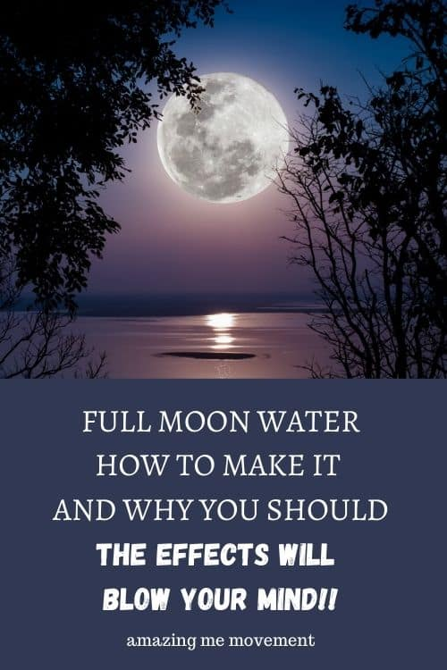 full moon by the water-how to make full moon water