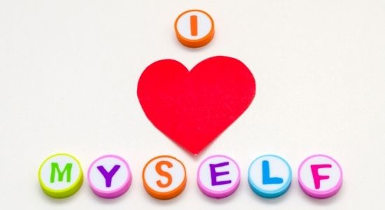 I love myself text-healing from narcissistic abuse blog