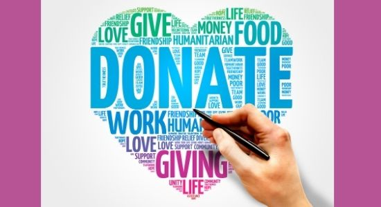 donate text-how to help the homeless blog post