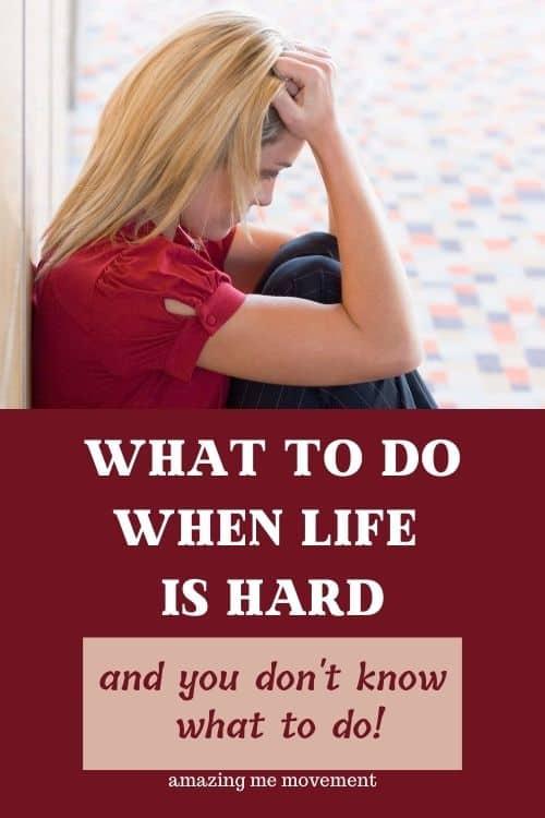 life is hard blog post