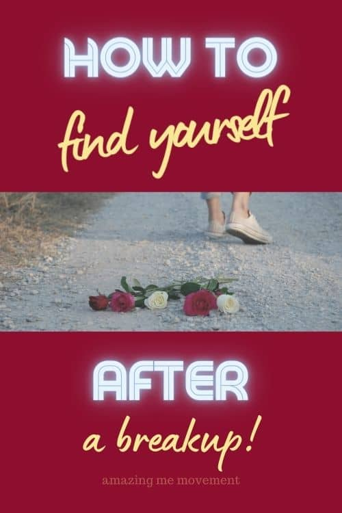 roses on the road-feet walking away-finding yourself after a breakup