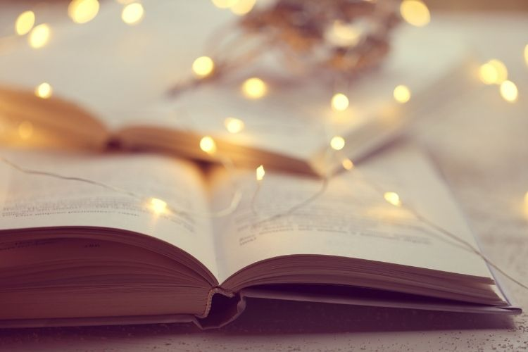 book with a string of lights-personal development books for women