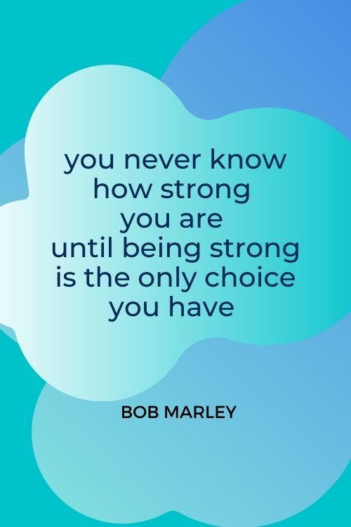 going through tough times quote